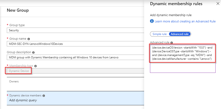 Deploy and configure Lenovo Vantage with Microsoft Intune | master